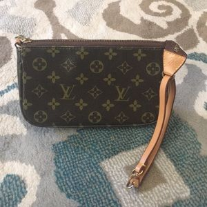 Small not authentic LV bag.